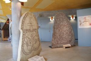 Rune stones in the museum