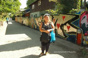 Exiting Christiania