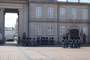 Changing of the guard Amalienborg
