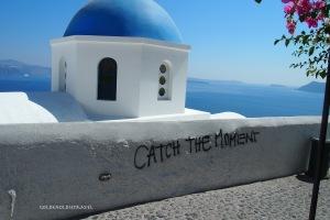 Even Oia gets some graffiti