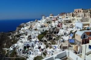 The cluster of Oia