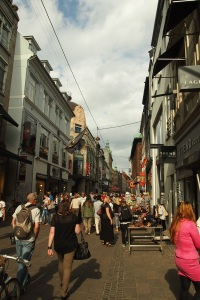 Stroget pedestrian street
