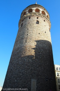 The Galata Tower built in 1348